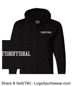 FishOffishal Zip-up hoodie Design Zoom